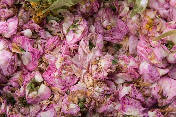 Textura secas rosa pálido rosa topo Foto stock © Elisanth