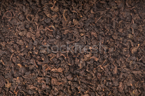 Texture of roasted Tieguanyin, Oolong tea  Stock photo © Elisanth