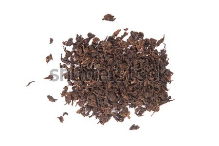 Roasted Tieguanyin, variety of Oolong tea  Stock photo © Elisanth