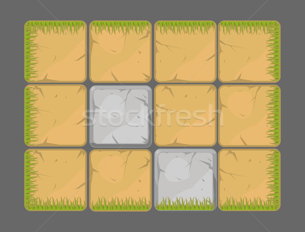 Vector natural background design elements  Stock photo © Elisanth