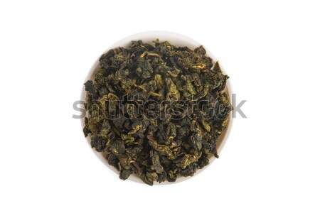 üst görmek kravat oolong çay beyaz Stok fotoğraf © Elisanth