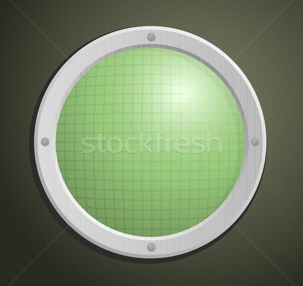 Radar starych tekstury ekranu kolor Zdjęcia stock © Elisanth