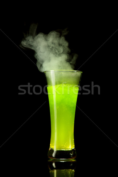 Boiling green alcohol  Stock photo © Elisanth