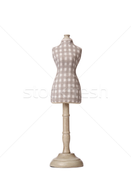Clothes dummy isolated on the white Stock photo © Elnur