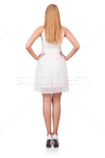 Donna moda abbigliamento ragazza modello palla Foto d'archivio © Elnur
