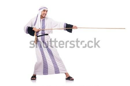 смешные каратэ истребитель белый человека спорт Сток-фото © Elnur
