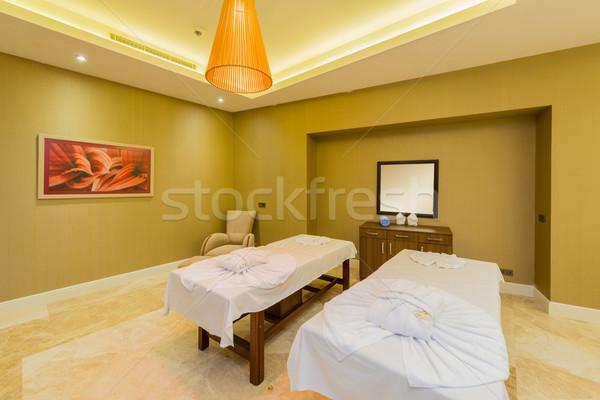 Spa комнату многие здоровья фон таблице Сток-фото © Elnur