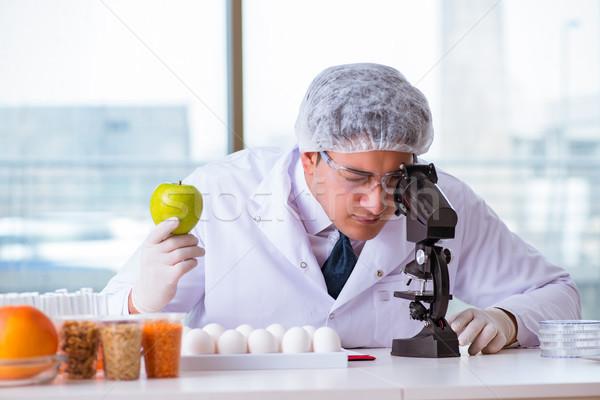 栄養 専門家 テスト 食品 製品 ラボ ストックフォト © Elnur