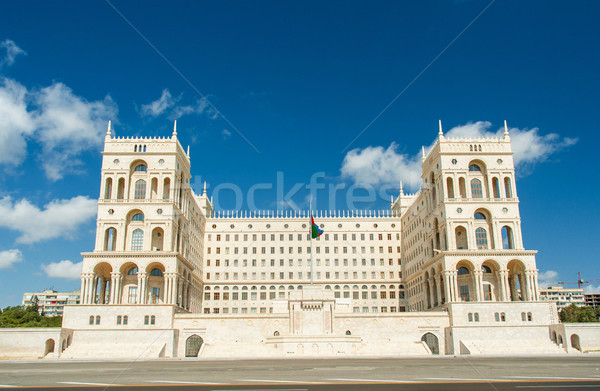 Government House on bright summer day in Baku, Azerbaijan Stock photo © Elnur