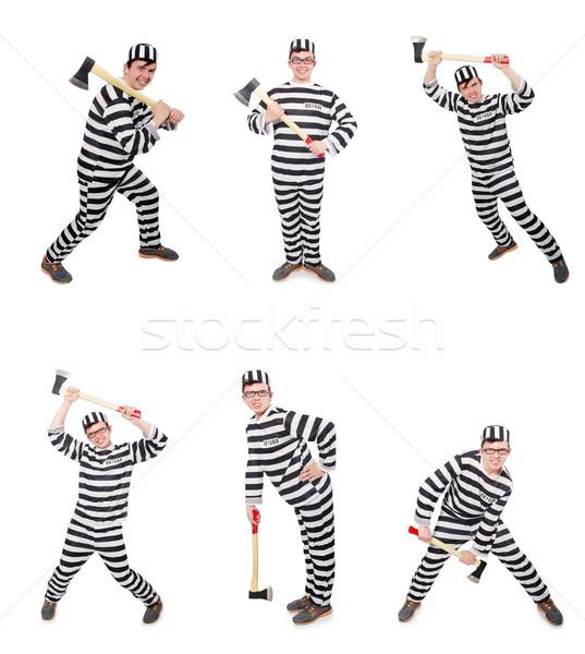 смешные тюрьмы заключенный человека прав весело Сток-фото © Elnur