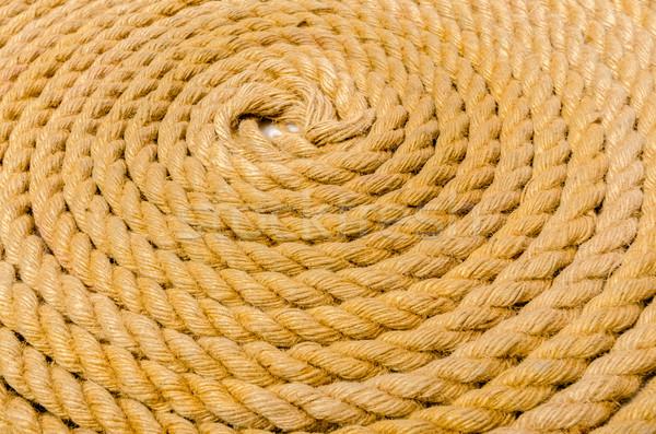 Touw achtergrond patroon draad string Stockfoto © Elnur
