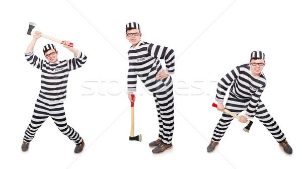 面白い 刑務所 受刑者 背景 法 楽しい ストックフォト © Elnur