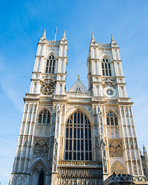 Westminster Abbey on bright summer day Stock photo © Elnur