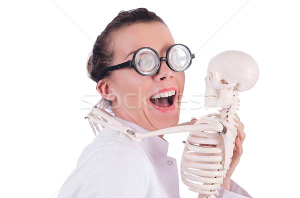 Médico esqueleto branco homem médico corpo Foto stock © Elnur