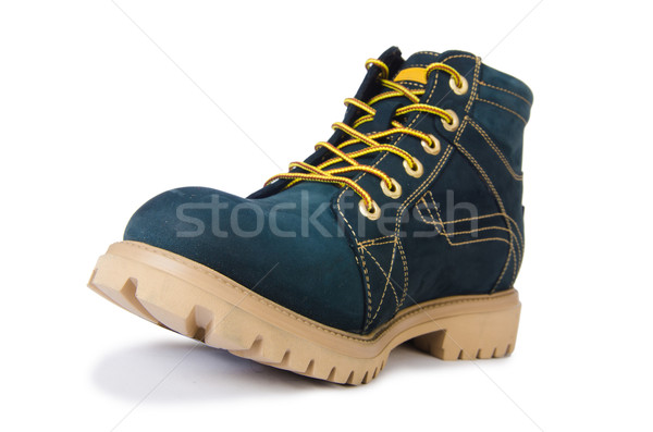 Ağır görev ayakkabı yalıtılmış beyaz arka plan Stok fotoğraf © Elnur