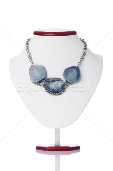 Nice ожерелье изолированный белый аннотация фон Сток-фото © Elnur
