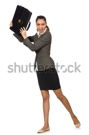 Funny man in business concept Stock photo © Elnur