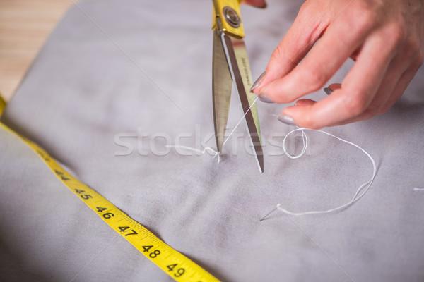 портной рук рабочих новых одежду бизнеса Сток-фото © Elnur