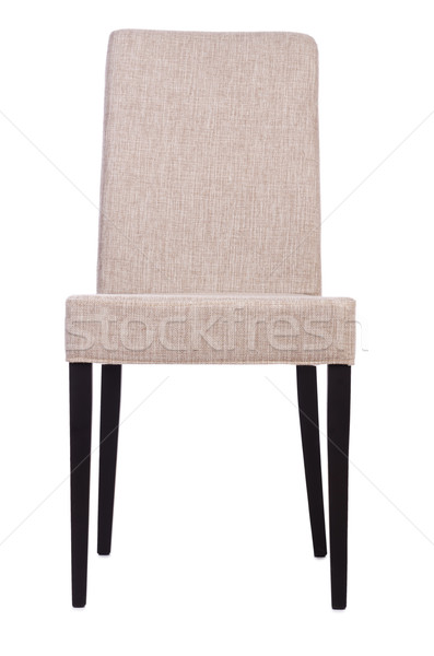 Sala de jantar cadeira isolado branco escritório mobiliário Foto stock © Elnur