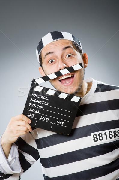 Bennlakó film film rendőrség igazság videó Stock fotó © Elnur