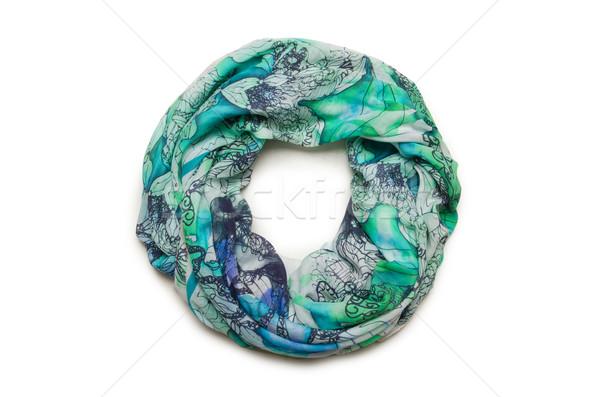 Nice écharpe isolé blanche heureux fond Photo stock © Elnur