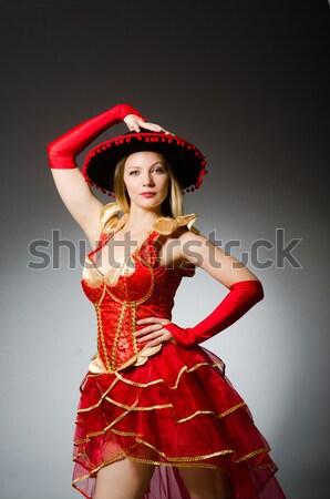 Kobieta fan taniec muzyki sexy dance Zdjęcia stock © Elnur