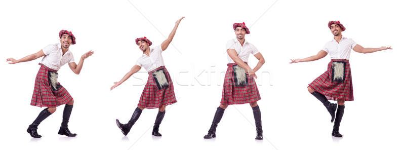 Традиции человек Dance танцы сумку Сток-фото © Elnur