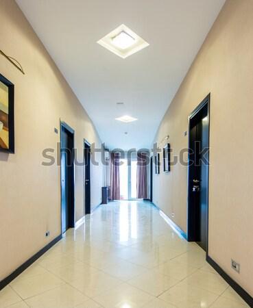 Hotel lobby corridor with modern design Stock photo © Elnur