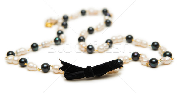 Nice necklace isolated on white background Stock photo © Elnur
