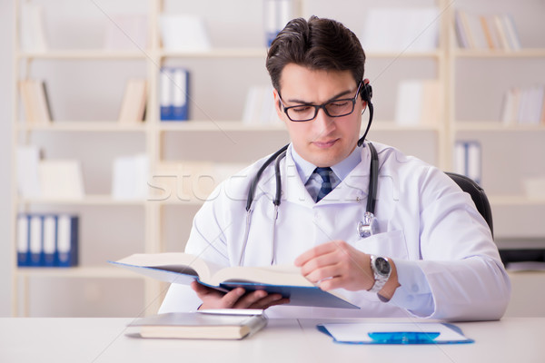 Young man doctor in medical concept Stock photo © Elnur