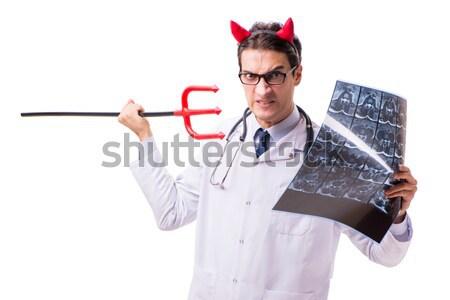 Arts bloed schenking geïsoleerd witte geld Stockfoto © Elnur