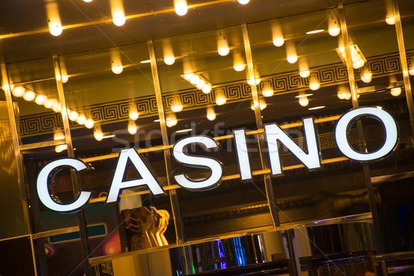 Casino entrée temps fête fond Photo stock © Elnur