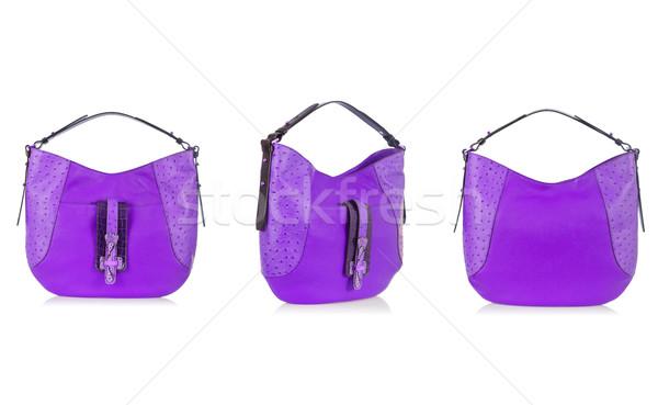 Ingesteld vrouw zakken geïsoleerd witte achtergrond Stockfoto © Elnur