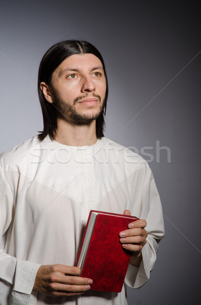 Priest man in religious concept Stock photo © Elnur