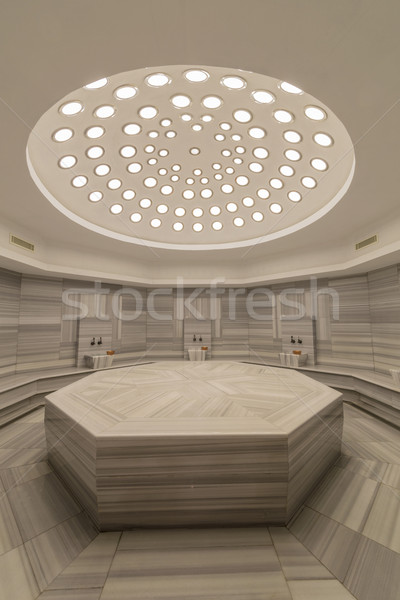Interior of turkish bath hammam Stock photo © Elnur