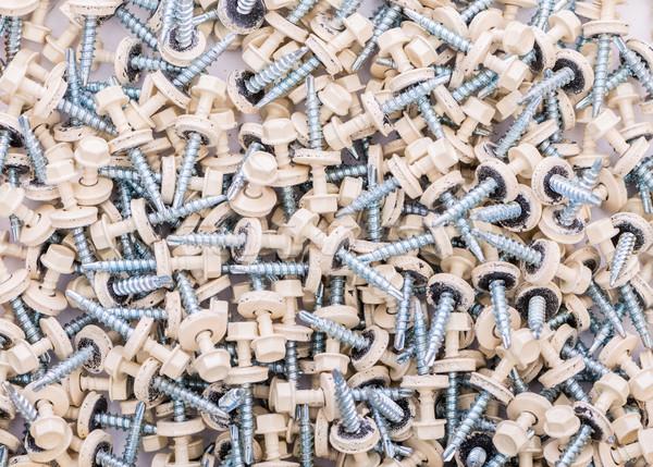Beaucoup bâtiment fond métal industrie tête Photo stock © Elnur