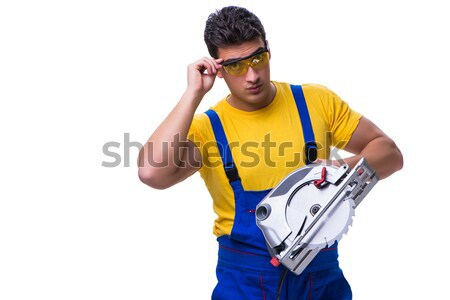 Funny man in sports concept Stock photo © Elnur