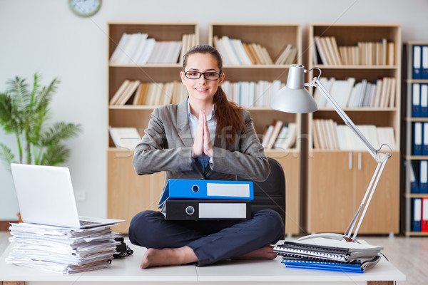 деловая женщина служба женщину ноутбука здоровья Сток-фото © Elnur