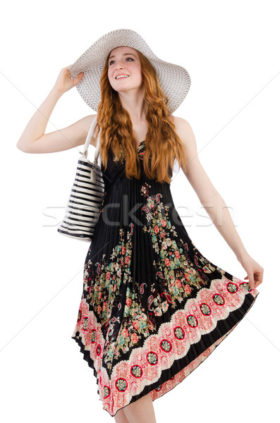Woman with bag in fashion concept Stock photo © Elnur