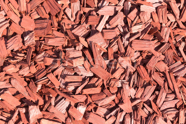 Background made from brown wood chips Stock photo © Elnur