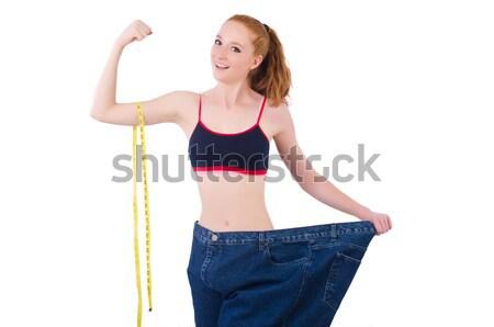 若い女の子 センチ ダイエット 女性 少女 手 ストックフォト © Elnur