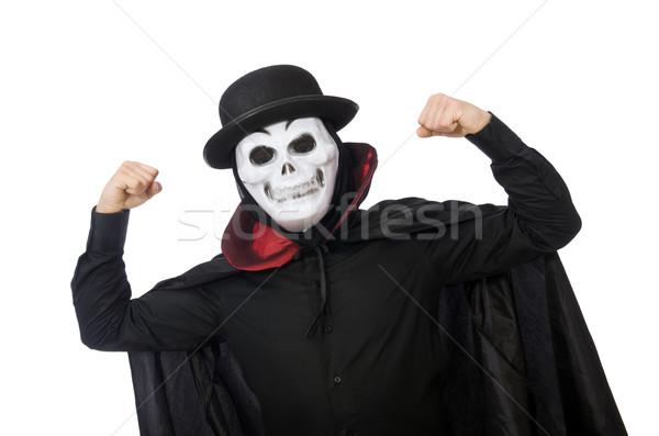 男 ホラー 衣装 マスク 孤立した 白人 ストックフォト © Elnur