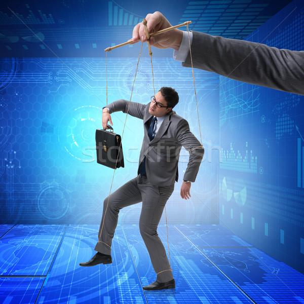 üzletember báb manipulált főnök üzlet férfi Stock fotó © Elnur