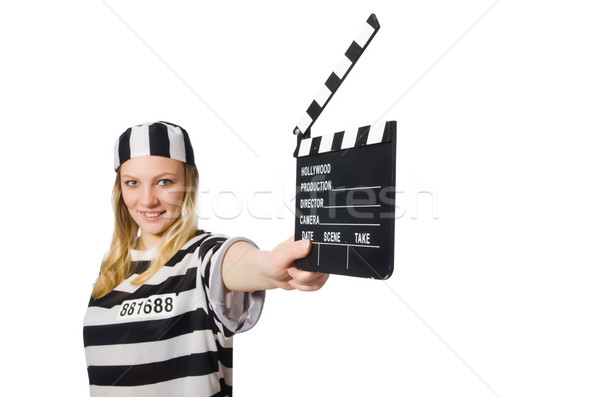 ストックフォト: 受刑者 · 映画 · 映画 · 警察 · 正義 · ビデオ