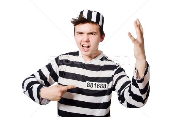 面白い 刑務所 受刑者 法 警察 正義 ストックフォト © Elnur