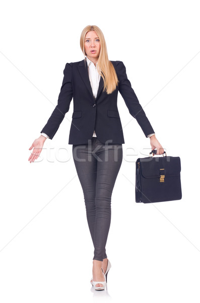 Woman businesswoman in business concept Stock photo © Elnur