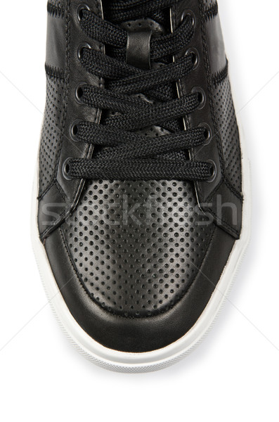 Tip of sport shoes isolated on white Stock photo © Elnur