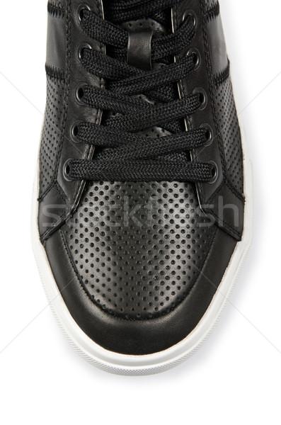 Borravaló sport cipők izolált fehér férfi Stock fotó © Elnur