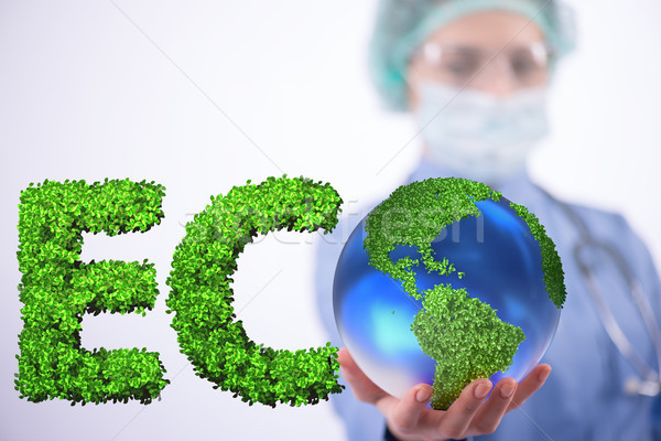 The global warming concept - earth day concept Stock photo © Elnur
