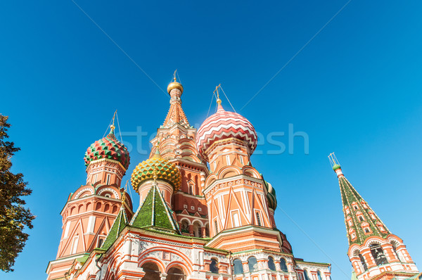 Famous st Vasily Blessed cathedral in Moscow Stock photo © Elnur